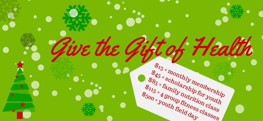 Give the Gift of Health - Website Banner